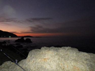 三浦半島うねり残る中で砂メバル〜からの磯メバル
