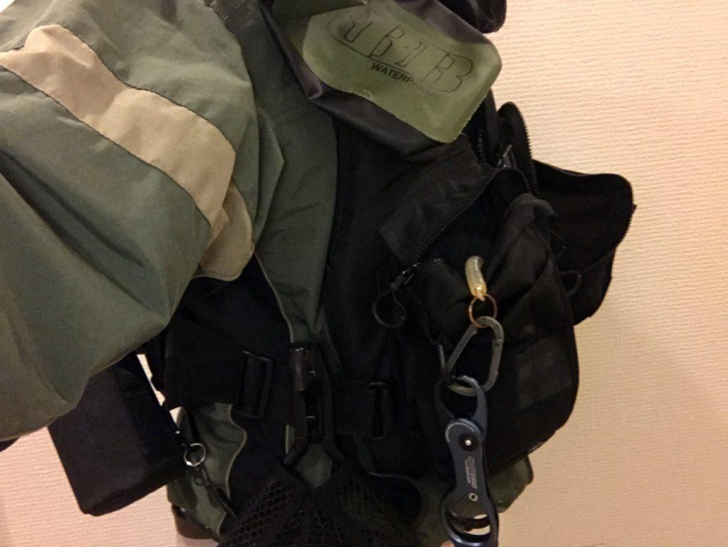 第一精工のMCガンフレーム30を脇に装着