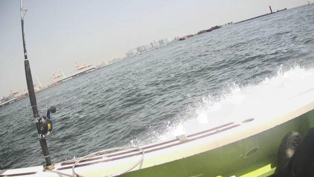 東京湾ライトアジ午前船帰港