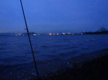 雨降りの横浜陸っぱりタチウオ狙いでBIGドラゴン!?とタコ釣り/横浜南部