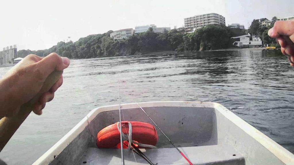 三浦半島油壷ボート