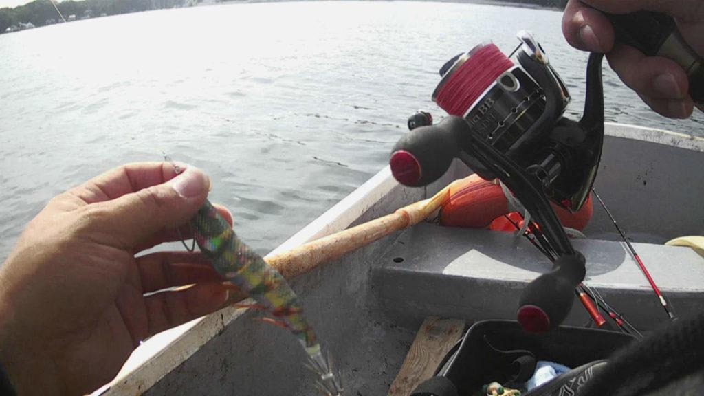 三浦半島油壷ボートでエギング