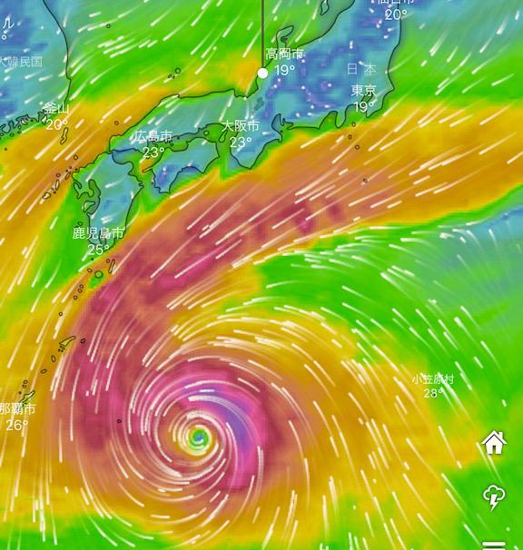 台風が海釣りにもたらす恩恵