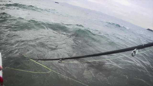 三浦半島サーフの朝マズメにシーバスGET!
