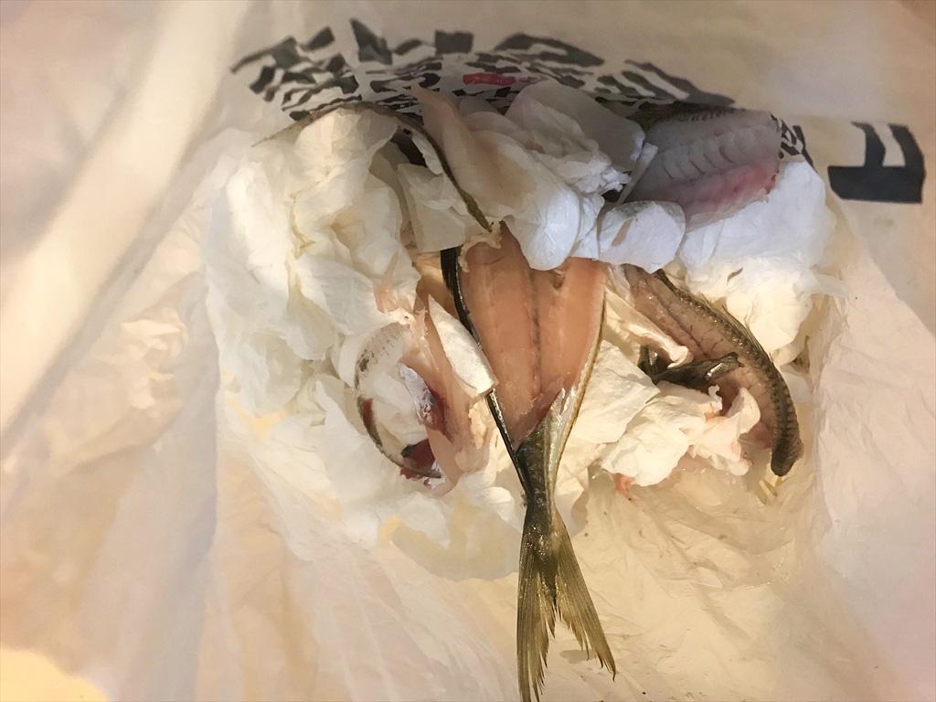 魚の匂い消しにBOSの袋がおすすめ