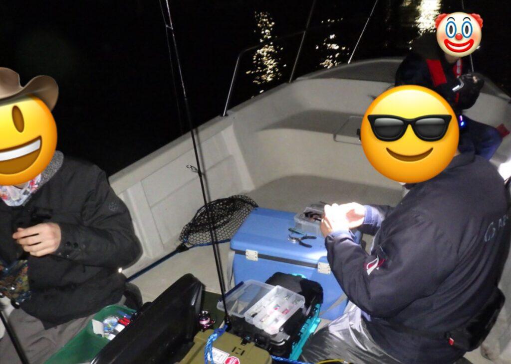 プレゼント企画のライトソルトボート釣行!