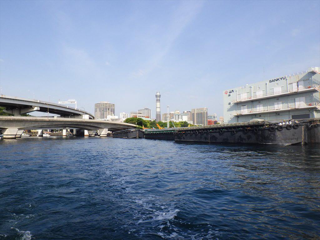 春の東京湾ライトアジ船