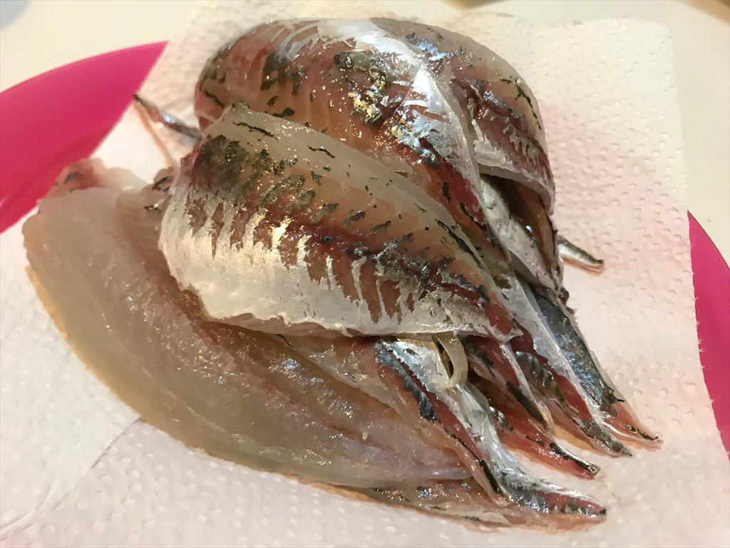 アジのお寿司!釣ってきたアジで簡単に超美味い寿司を握る!