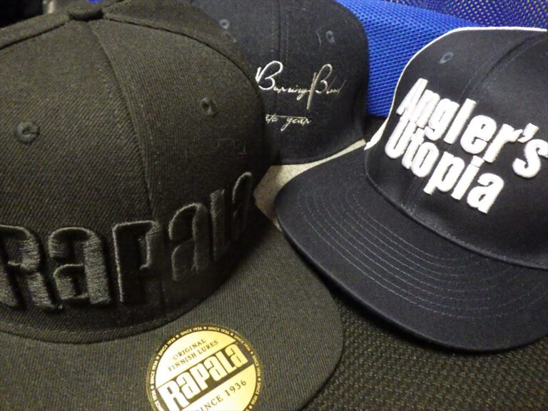 釣り用の帽子が最近オシャレ!メーカーキャップが安い!